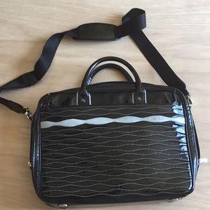 TUMI Patent Leather organiser Briefcase 💼